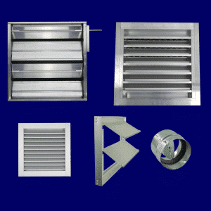 louvers-dampers